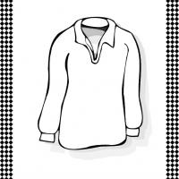 Long-Sleeved Shirt Flash Card