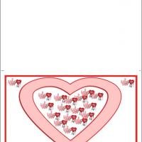 Printable Lots Of I Love You - Printable Valentines - Free Printable Cards