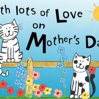 Printable Lots Of Love Postcard - Printable Mothers Day Cards - Free Printable Cards