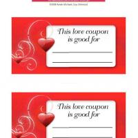 Love Coupon Good For
