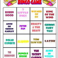 Love To Read Bingo 1