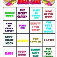 Love To Read Bingo 2