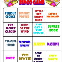 Love To Read Bingo 7