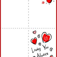 Printable Loving You Always Card - Printable Valentines - Free Printable Cards
