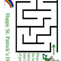 Printable Lucky Leprechaun Maze - Printable Mazes - Free Printable Games