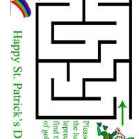 Lucky Leprechaun Maze