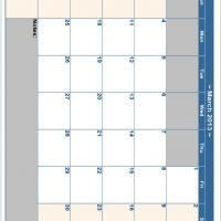 March 2013 Planner Calendar