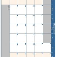 March 2013 Planner Calendar