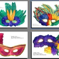 Printable Mardi Gras Masks - Printable Photos - Free Printable Pictures