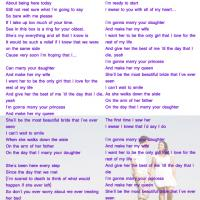 Printable Marry Your Daughter by Brian Mcknight - Printable Sheet Music - Free Printable Music