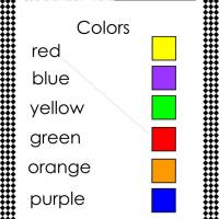 Match the Color and Word