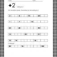 Printable Math Addition Lesson - Printable Classroom Lessons - Free Printable Lessons