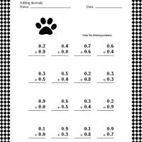 Printable Math Decimals Lesson - Printable Classroom Lessons - Free Printable Lessons