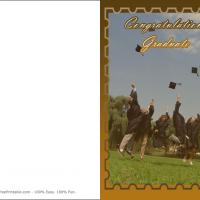Printable May Every Success Be Yours - Printable Graduation Cards - Free Printable Cards