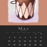 May Music Theme Calendar