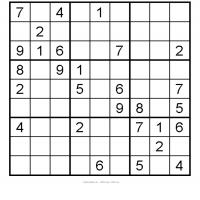 Medium Sudoku 1