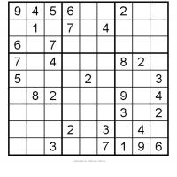 Medium Sudoku 10