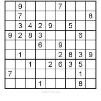 Medium Sudoku 2