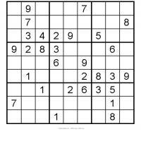 Medium Sudoku 2