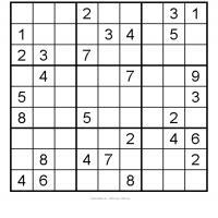 Medium Sudoku 4