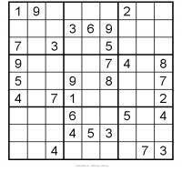 graphic about Printable Sudoku Medium referred to as Printable Sudoku Medium