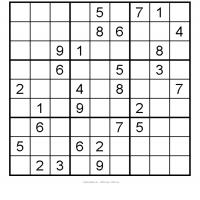 Medum Sudoku 3