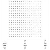 Men In The Bible Word Search