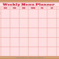 Menus Planner