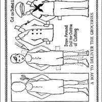 Printable Messenger Paperdoll - Printable Fun - Free Printable Activities
