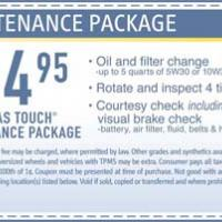 Printable Midas Maintenance Package - Printable Local Coupons - Free Printable Coupons