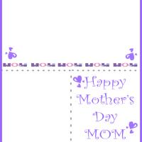 Printable Mom Greeting Card - Printable Mothers Day Cards - Free Printable Cards