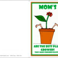 Mom's Make Children Blossoms