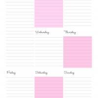 Moms Weekly Calendar