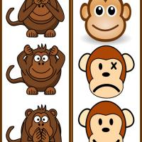 Monkey Time Bookmarks