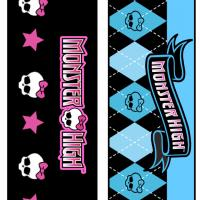 Monster High Bookmarks Set