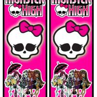 Printable Monster High Bookmarks - Printable Bookmarks - Free Printable Crafts