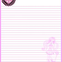 Monster High Draculaura Paper