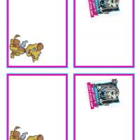 Monster High Frankie Stein and Watzit Name Tags