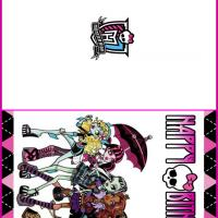 Monster High Girls Birthday Cards
