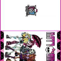 Monster High Printable Birthday Cards