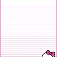 Printable Monster High Skull Stationery - Printable Stationary - Free Printable Activities