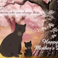 Printable Mother Bear And Child Postcard - Printable Mothers Day Cards - Free Printable Cards