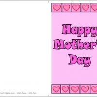 Printable Mother's Day Patchwork - Printable Mothers Day Cards - Free Printable Cards
