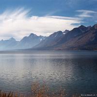 Mountain Range and Sea