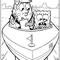 Mrs Puff Giving Spongebob Some Boating Lessons