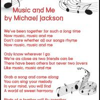 Printable Music and Me by Michael Jackson - Printable Sheet Music - Free Printable Music