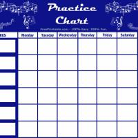 Soft image throughout music practice chart printable free