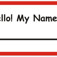 Printable name tag - Printable Name Tags - Misc Printables
