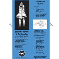Printable NASA Launch A Career In Engineering - Printable Bookmarks - Free Printable Crafts