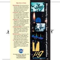 NASA Microgravity Bookmark
